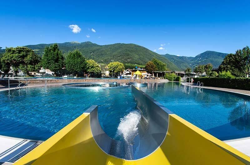Acquarena la piscina a bressanone in alto adige for Alloggi a bressanone